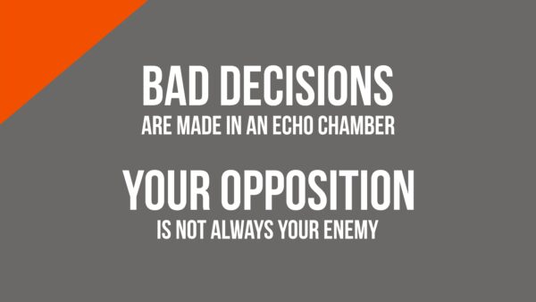 Opposition and Echo