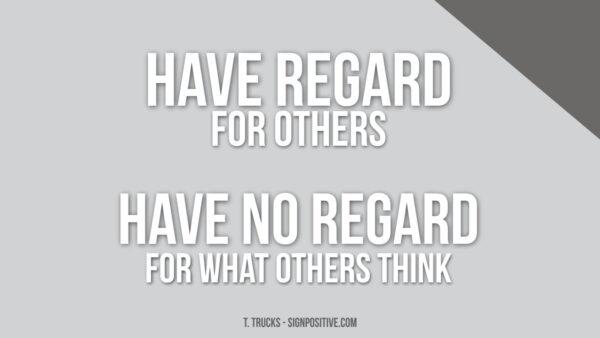 Without Regard